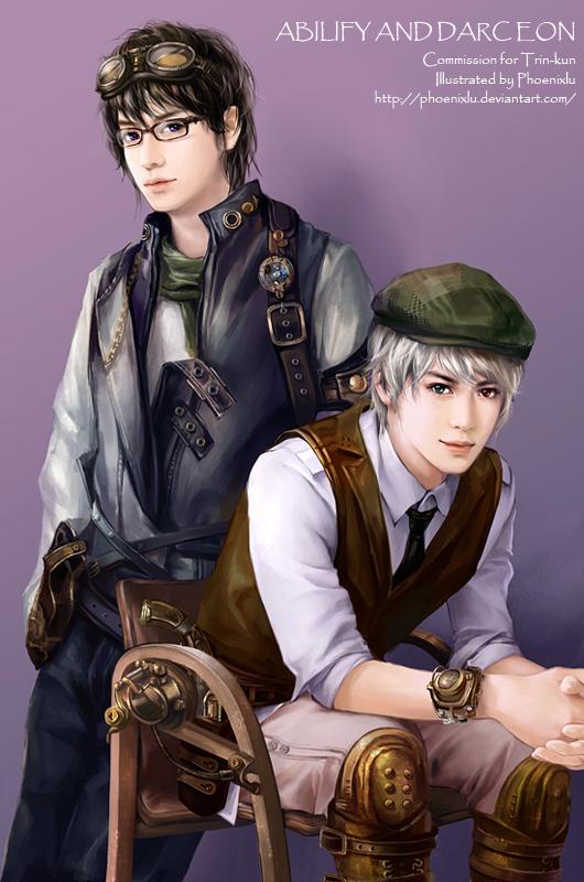 Abilify and Darc Eon by phoenixlu