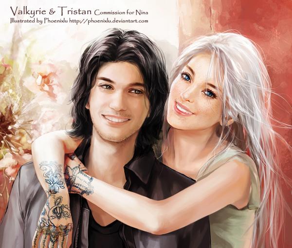 Valkyrie and Tristan by phoenixlu