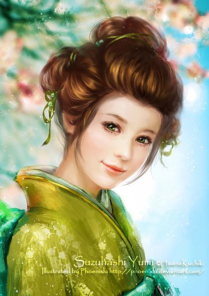 Suzuhashi Yumi by phoenixlu