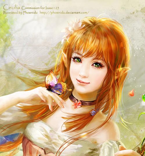 Cecilia Detail by phoenixlu