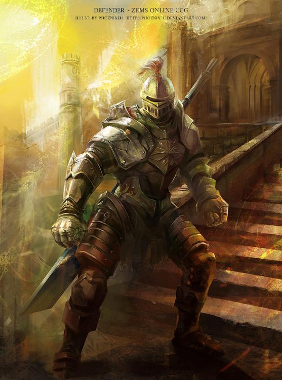 Defender by phoenixlu