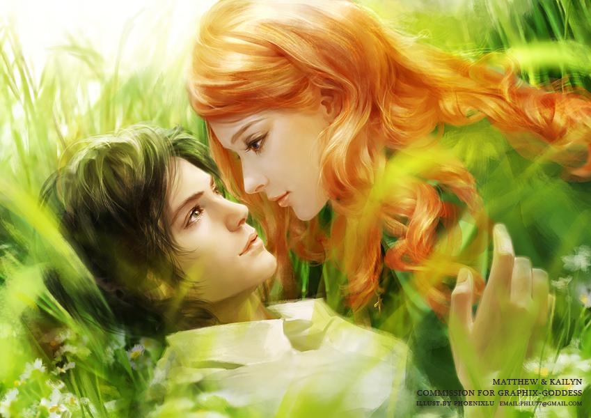 MATTHEW and KAILYN by phoenixlu