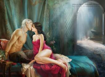 Forbidden Kiss by phoenixlu
