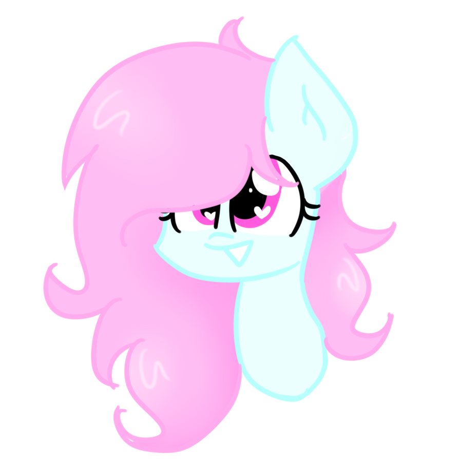 [COMMISSION - HeadShot] Cloudy Sweet by CandyAICDraw