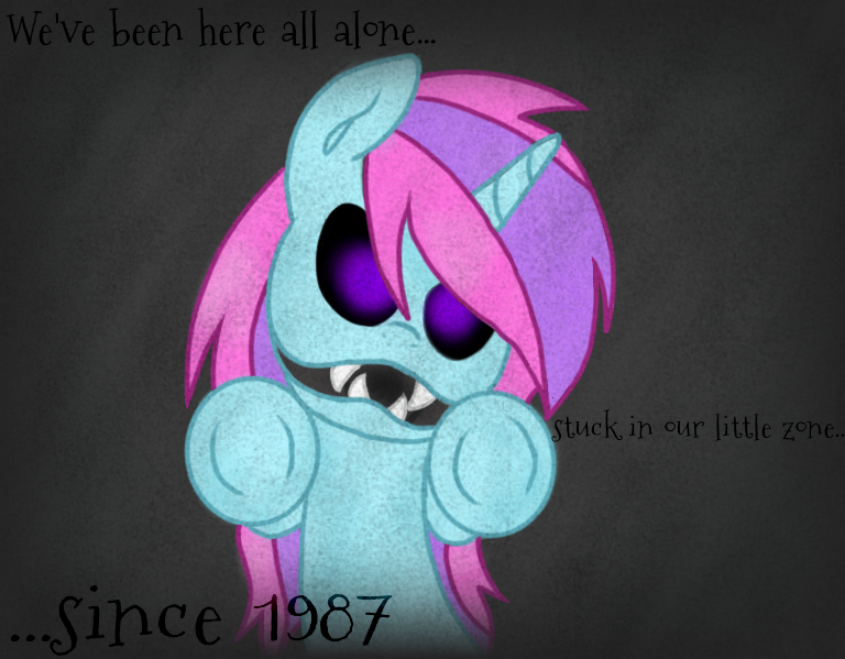 We've been here all alone by CandyAICDraw