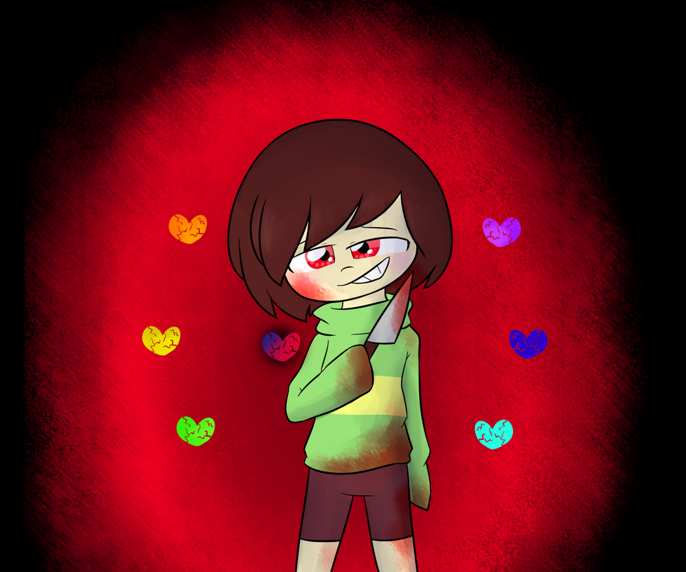 Chara - Undertale by CandyAICDraw