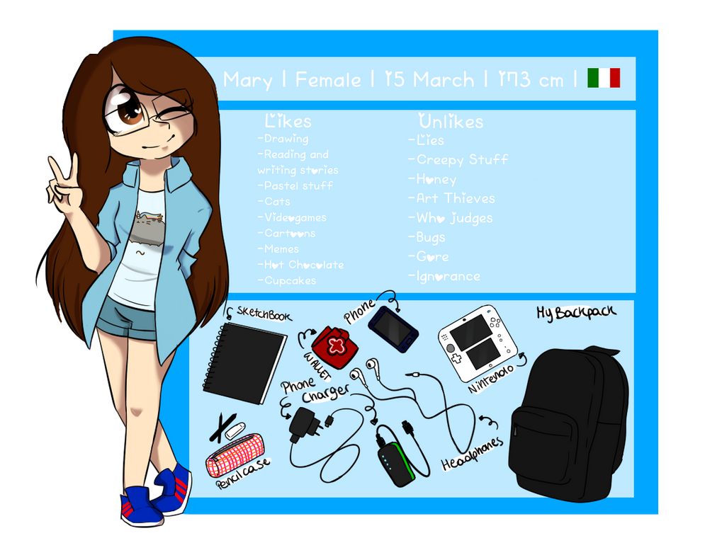Meet the artist Meme - Mary by CandyAICDraw