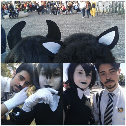 Bendy and Boris BATIM [COSPLAY] by CandyAICDraw