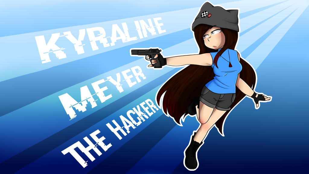Kyraline Meyer - The Hacker by CandyAICDraw