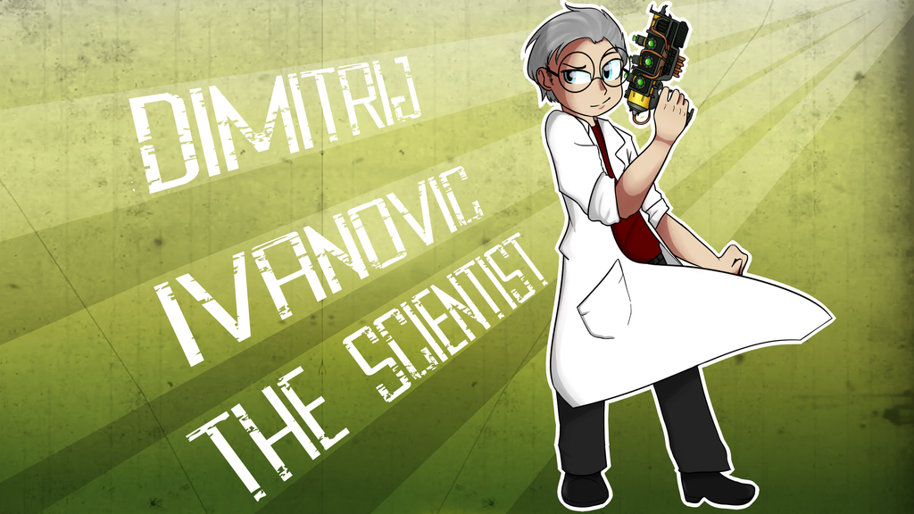 Dimitrij Ivanovic -  The Scientist by CandyAICDraw