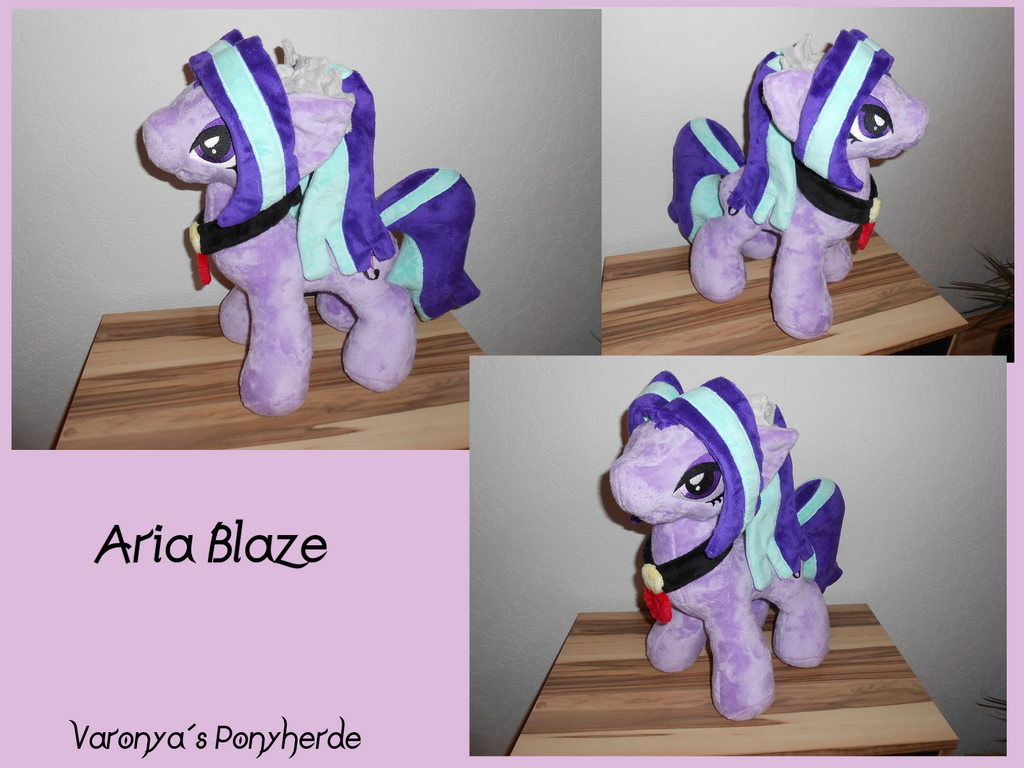 Aria Blaze Plush - MLP by Varonya