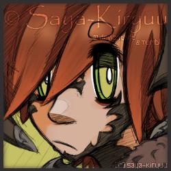  OC  Doodle Portrait Icon - Xander by Saya-Kiryuu