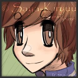 |Raffle Prize| Doodle portrait icon by Saya-Kiryuu