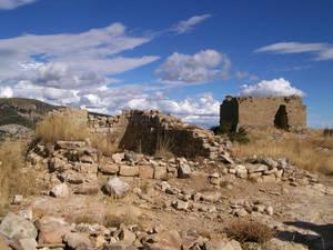 ruinas ermita y fortaleza
