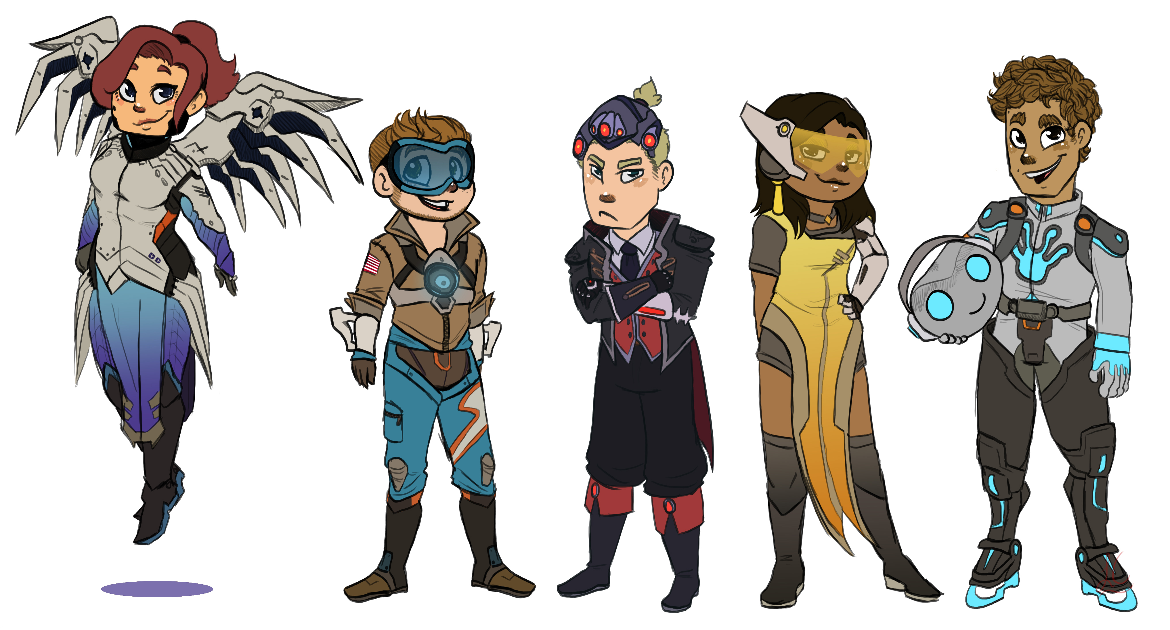 Street Fashion Overwatch