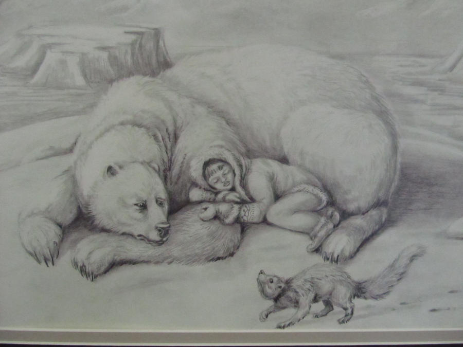 Grolar Bear, Fisher and Girl