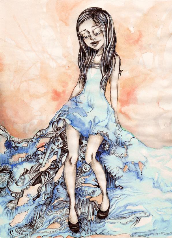 Summer dress by namfesis