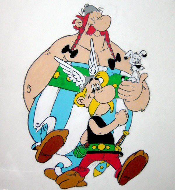 asterix and obelix. Asterix and Obelix by