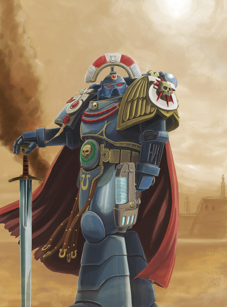 Captain Cato Sicarius, Ultramarine by Spring-O