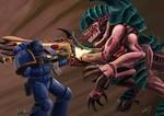 Ultramarine vs Hiveguard
