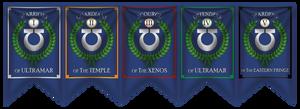 Ultramarines Company banners