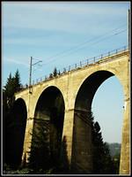 Train bridge by bwanot