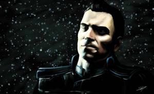 Mass Effect 3: Kaidan by Splintter