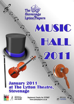 Music Hall - theatre poster