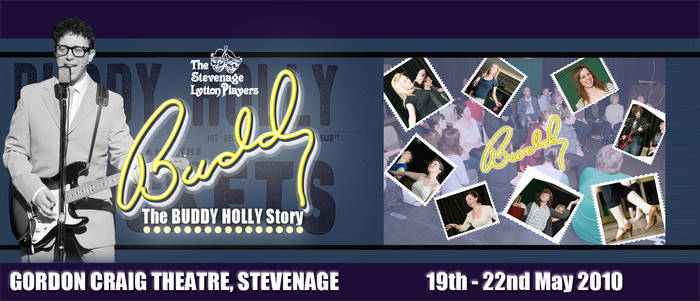 Buddy the Musical - theatre poster