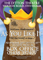As You Like It - theatre poster