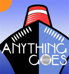 Anything Goes - Crest for theatre production