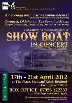 Show Boat and Hammerstein poster
