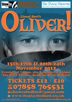 Oliver - 2012 - ShowCo - Poster