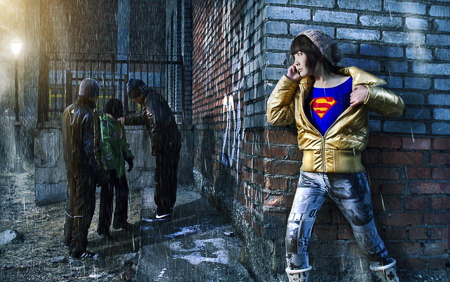 super man by tiamatsergey