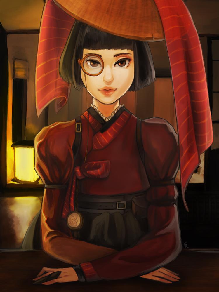 Korean-steampunk concept art by MJ-Kwon