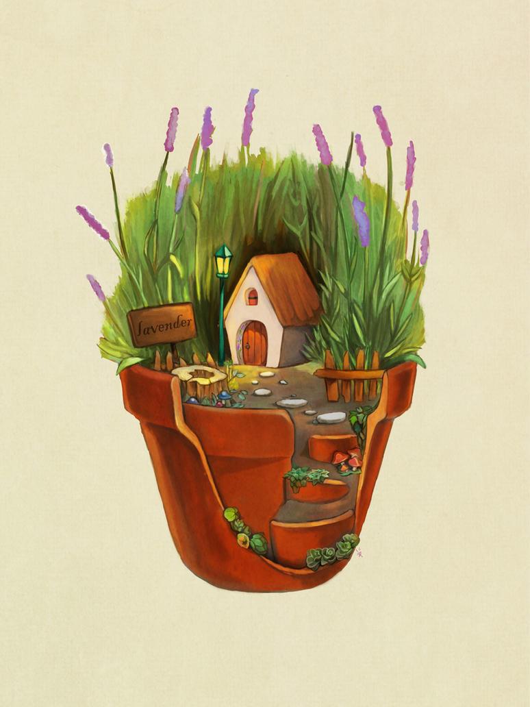 Brokenpot Lavender by MJ-Kwon