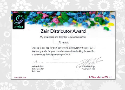 Zain_award  Certificate_03