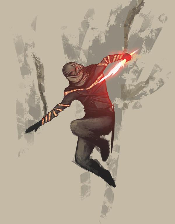 Assassin concept by kokaInum