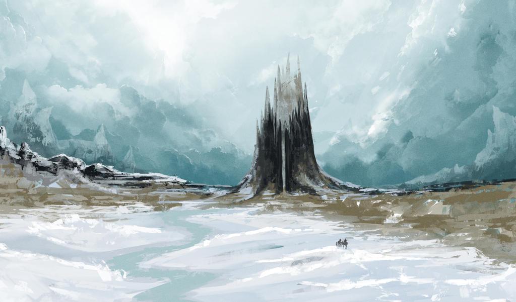 Ice Castle concept by kokaInum