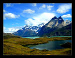 Torres del Paine, Chile by Katta80