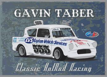Classic Hot Rod 555 Gavin Taber by gridart