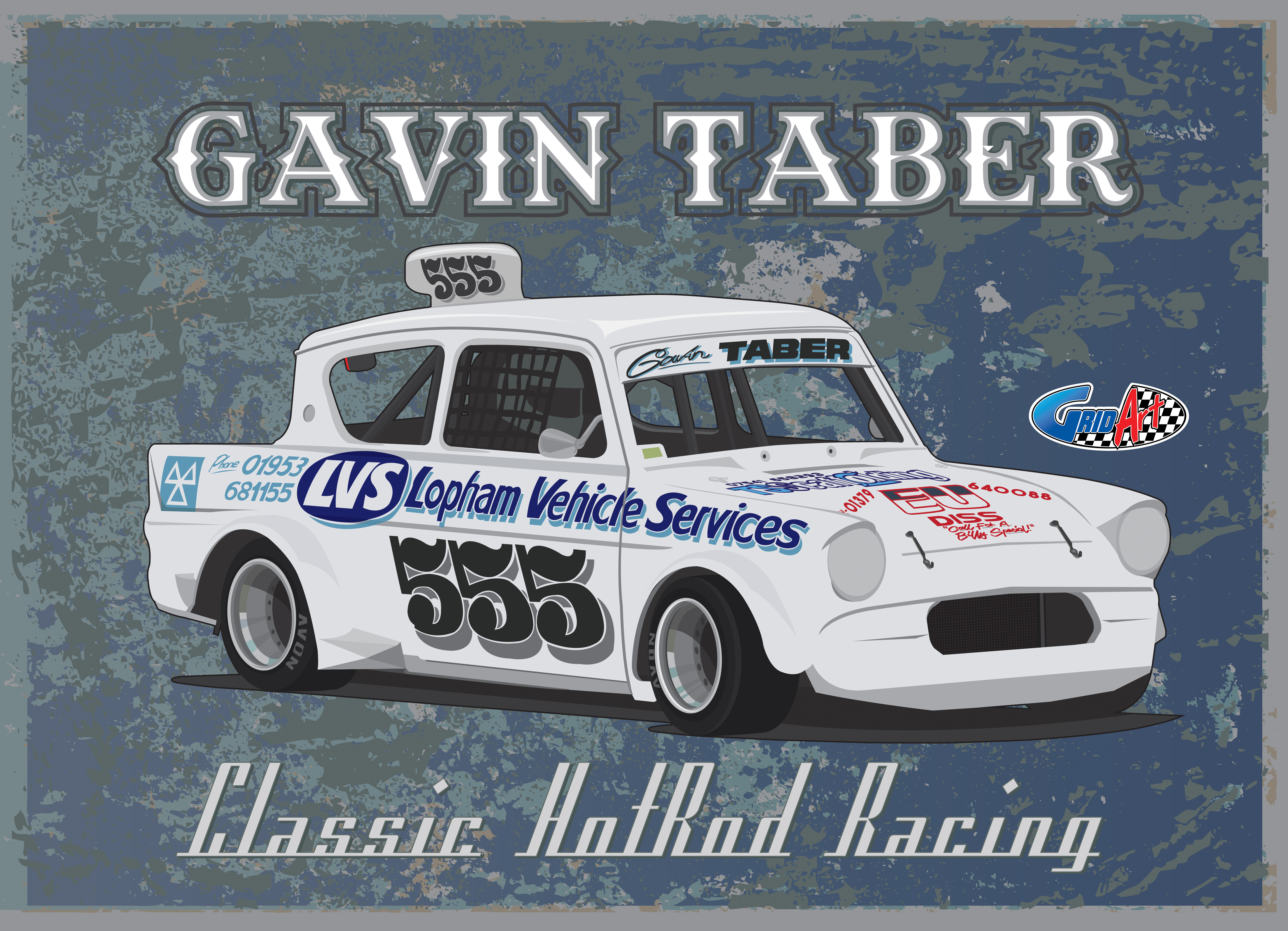 Classic Hot Rod 555 Gavin Taber