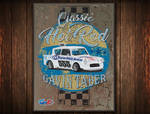 Classic Hot Rod 555 Poster