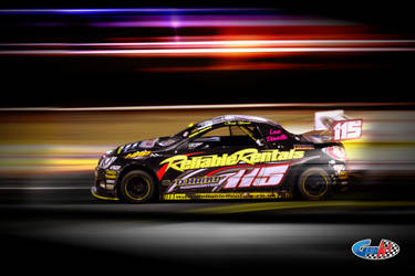 National Hot Rods Chris Haird by gridart