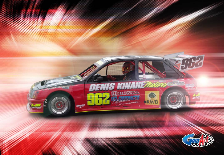 John Christie National Hot Rod 962 by gridart