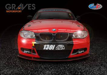 BMW 130i Motosport by gridart