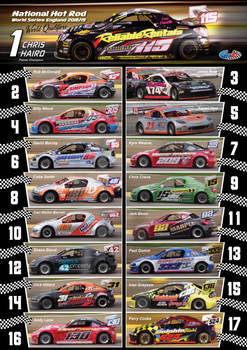 National Hot Rod 2019 English World Qualifiers