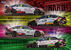BTCC Team Hard Racing 2019