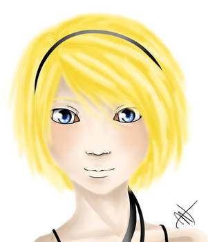 Kagamine Rin by Crimson-Strength