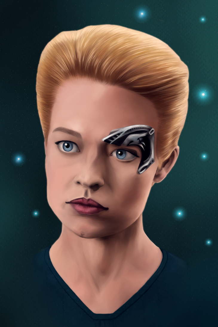 Seven of Nine by Scheherazade2c